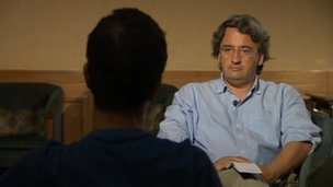 Alleged rape victim talks to Fergal Keane