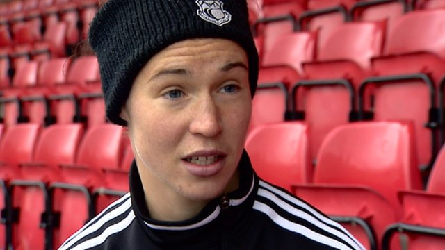 Glasgow City striker Jane Ross