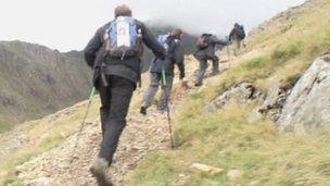 Metropolitan Police officers walking
