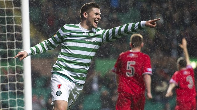 Tuesday's Scottish League Cup highlights