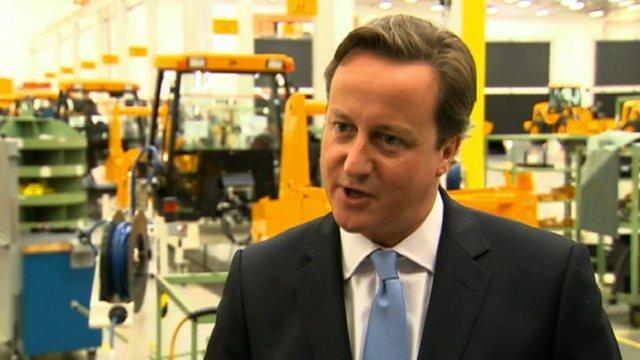 The Prime Minister, David Cameron