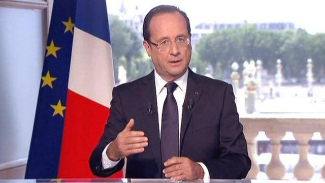 French President, Francois Holland