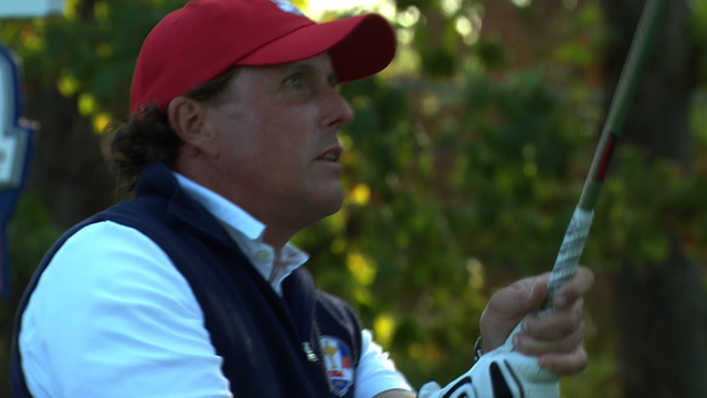 United States' Phil Mickelson