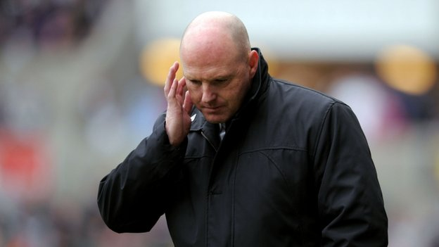 Steve Kean at Blackburn
