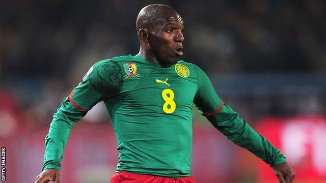 Former Cameroon midfielder Geremi