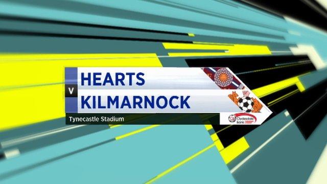 Highlights - Hearts 1-3 Kilmarnock