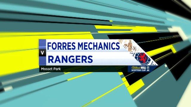 Highlights - Forres Mechanics 0-1 Rangers
