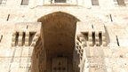 Entrance to the Citadel, Aleppo. Photo: Harold Caruana