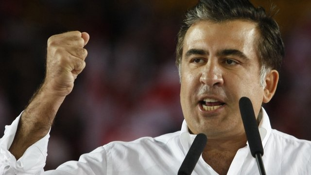President Mikhail Saakashvili