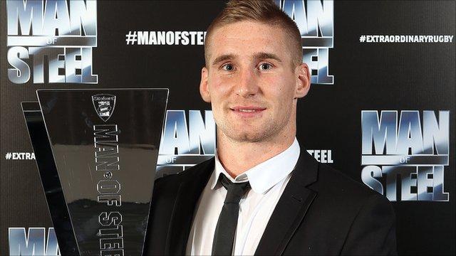 Wigan Warriors full-back Sam Tomkins