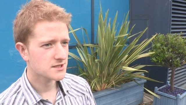 Belfast student Christopher McMullan