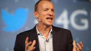 EE chief executive Olaf Swantee