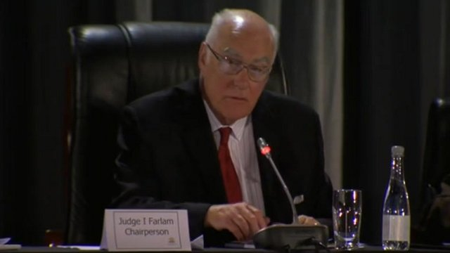Judge Ian Farlam