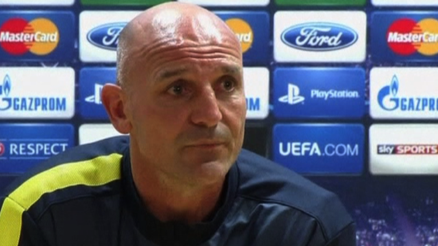 Arsenal's assistant manager Steve Bould
