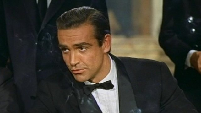 Sean Connery in Dr No