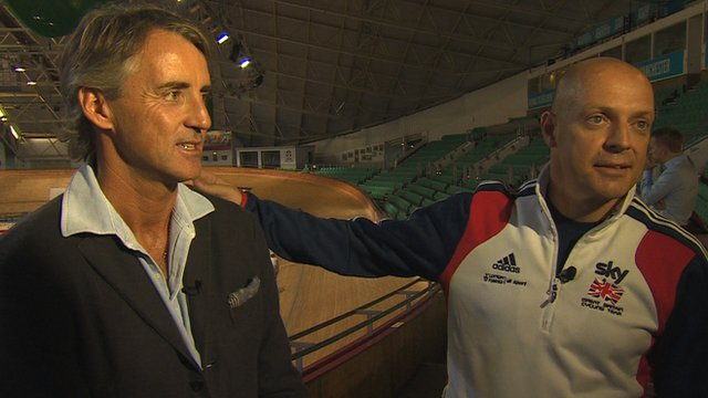 Roberto Mancini and Dave Brailsford