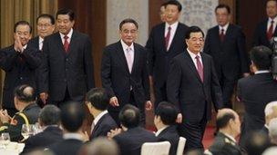 China's politburo - archive image