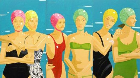 Alex Katz - Paintings