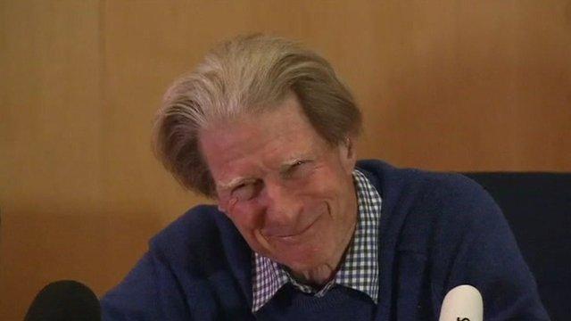 British scientist John Gurdon