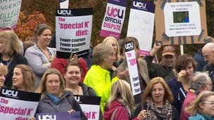 K College strike action