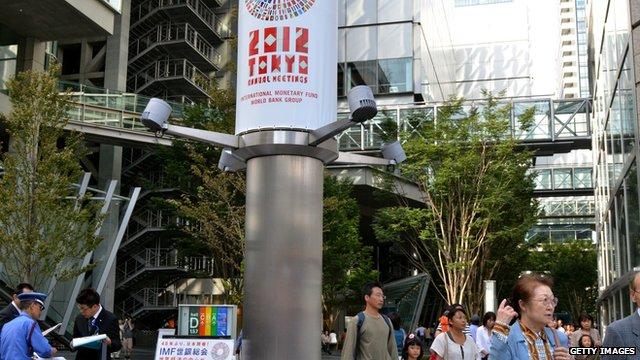IMF meeting Tokyo, October 2012
