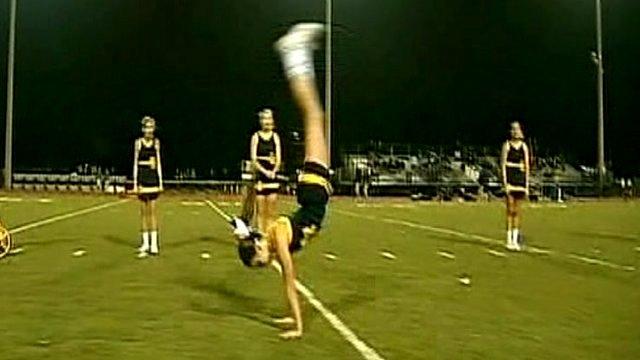 Cheerleader Miranda Ferguson