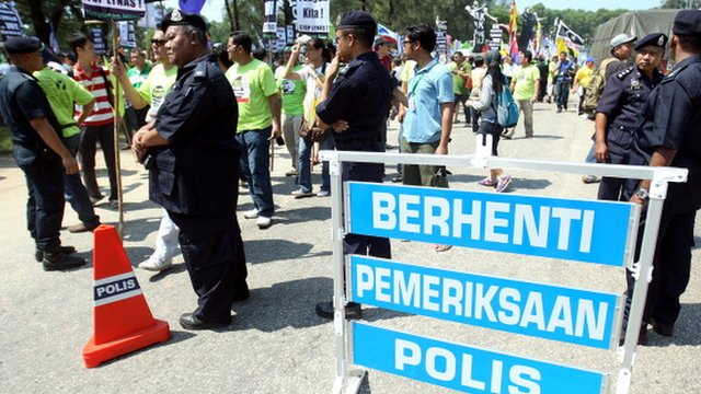 Malaysian protest against Lynas rare earth plant