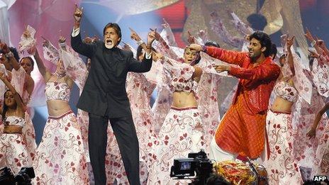Amitabh Bachchan at a film programme