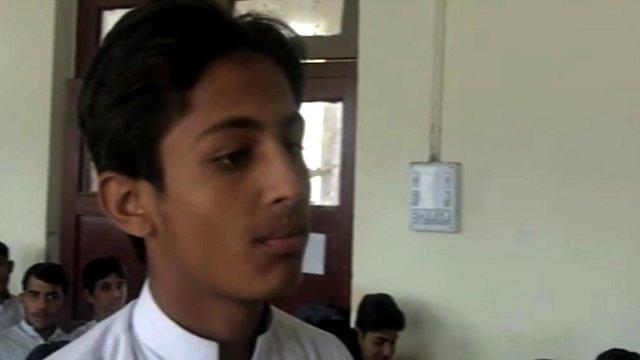 A school pupil