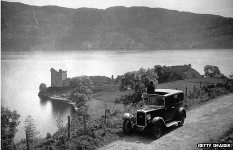 1930 image of Loch Ness