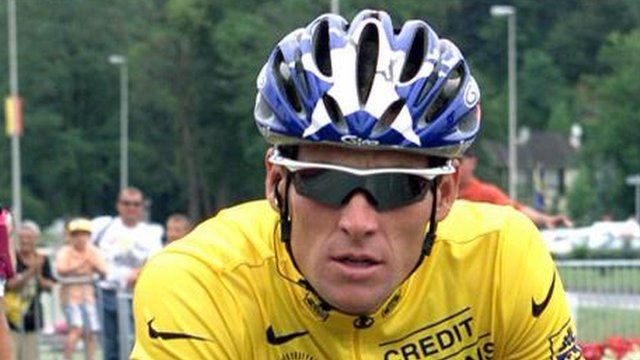Lance Armstrong - file photograph