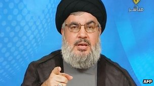 Sheikh Nasrallah in TV address. 11 Oct 2012