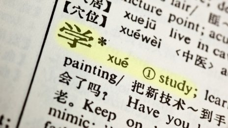 Words in Mandarin Chinese