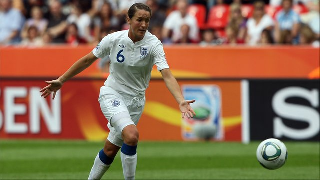 Casey Stoney of England