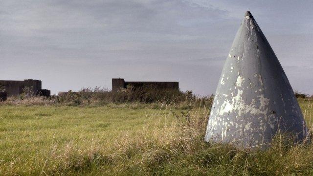 Relics at former RAF North Luffenham, Rutland
