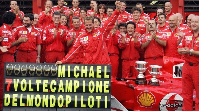 Murray Walker on Michael Schumacher