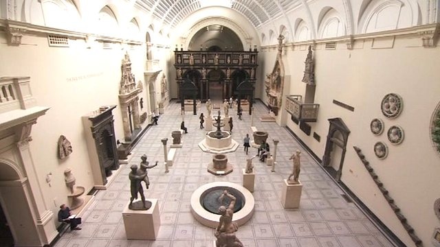 A museum