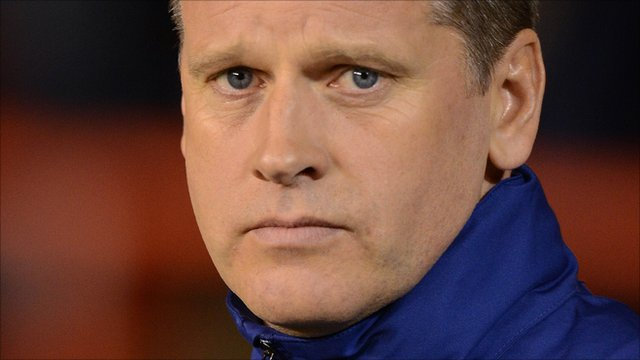 Blackburn Rovers caretaker manager Eric Black