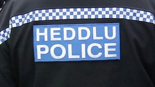 Police on jacket