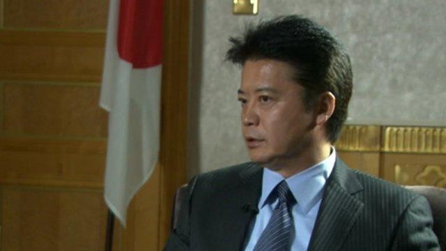 Japanese Foreign Minister Koichiro Gemba