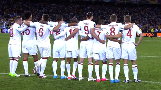 England football players