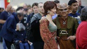 Star Trek fans