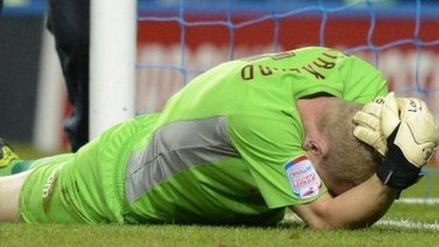 Leeds goalkeeper Chris Kirkland