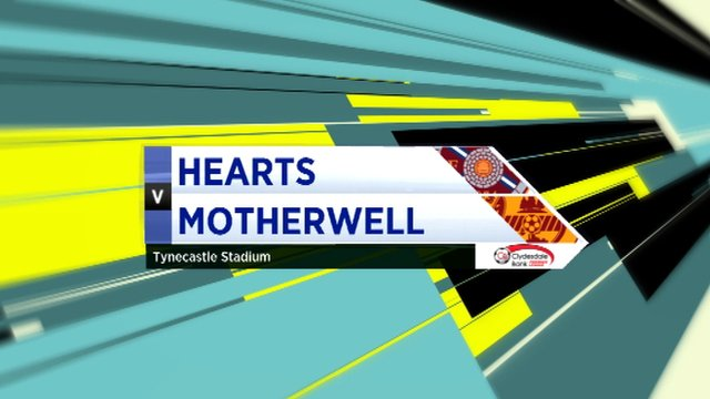 Highlights - Hearts 1-0 Motherwell