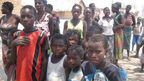 Thondue villagers
