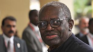 Former president of Suriname, Ronald Venetiaan
