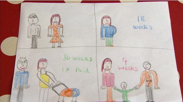 Parental leave cartoons