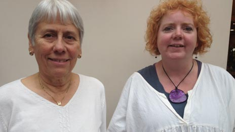 Gill Griffiths a Branwen Niclas