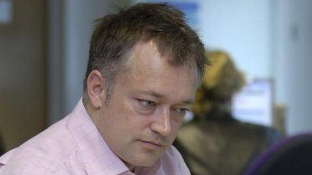 Newsnight editor Peter Rippon