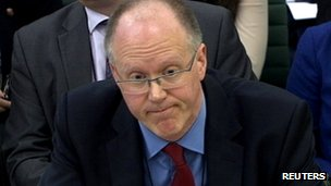 George Entwistle appears before the Commons Culture Committee